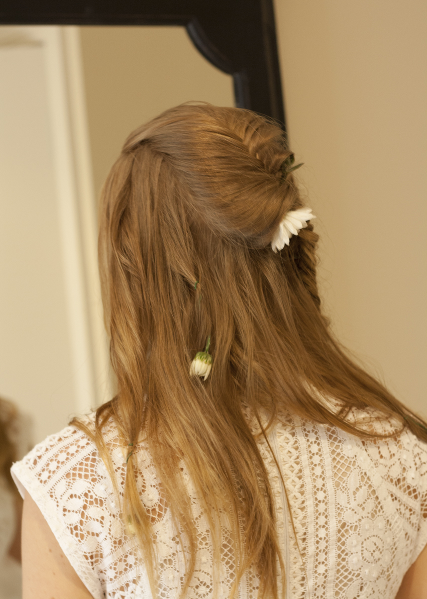 Hair from back