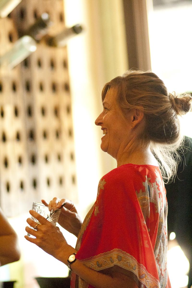 Liz laughs